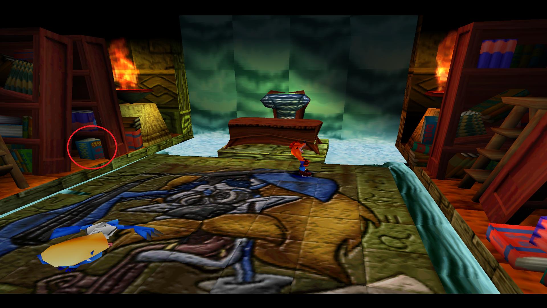 Crash Bandicoot 2 Cortex Strikes Back Game View