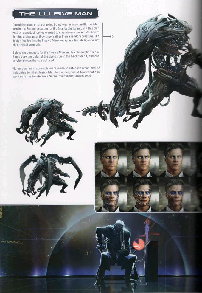 25+ Mass Effect Illusive Man Background Pics