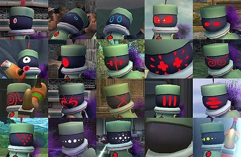The primid s faces in the subspace emissary change every time the game
