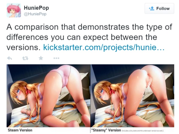 uncensor huniepop steam