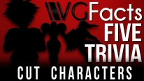 5 Cut Characters - VGFacts Five Trivia Feat. Caddicarus