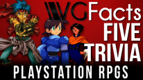 5 PlayStation RPGs Trivia - VGFacts Five Trivia